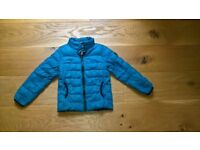 Boys Down Feather Padded Jacket, blue, size 5 years