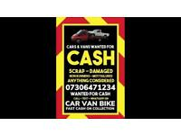 ♻️‼️SELL MY CAR VAN BIKE FOR CASH ANY CONDITION SCRAP DAMAGED NON RUNNING FAST COLLECTION TODAY 1B