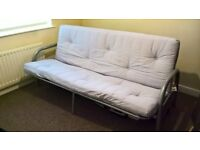rock and roll Mexican double sofa bed with full memory mattress