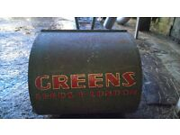 antique greens push mower