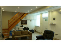 Fantastic 1 bed office conversion moments from Turnpike Lane tube