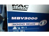 McAlister MPV 3000 Leaf Vacumn/Blower