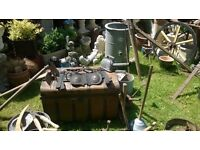 We Buy Your Unwanted Garden Items Anything Considered