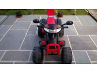 Children's Battery Quad Bike from 3+ years