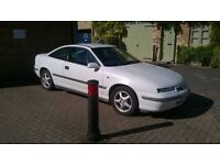 VAUXHALL CALIBRA AUTO, 1995,LONG MOT, HISTORY. PRICE REDUCED SENSIBLE OFFERS CONSIDERED