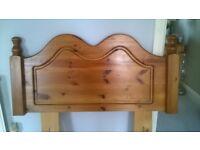 Pine Headboard (Single bed)