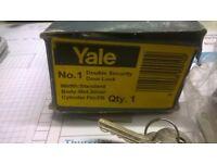 Yale No1 Double security Door Lock -In box unused