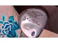Callaway war bird great big bertha 3 wood