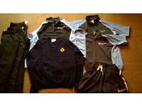 Collection of County Upper Bury St Edmunds BOYS school uniform.