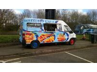 Catering van and pitch to rent oxford