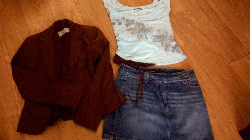 bundle of ladies clothes, size 10
