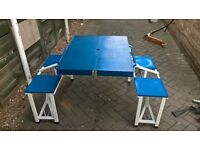 Child's Folding Picnic Table