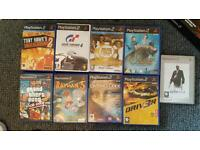 Ps2 boxed with orignal guitat hero and 20 games