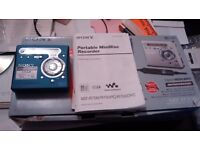 Sony Minidisc MZ R 700