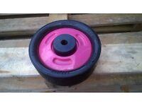 Smart trike Spare Part Wheel (for pink Smart trike)