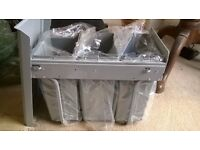 Recycling bins (pull-out drawer unit) for sale - unused