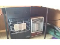 Calor Gas Heaters (2) - with gas bottles