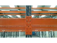 2nd Hand Fully Adjustable PALLET RACKING - Excellent Condition