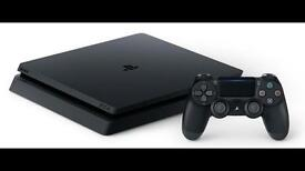 Ps4 slim 4 month old