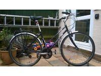 Ladies Trek commuting / town bike ideal station or student bike