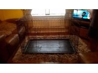 Large Dog Cage/Crate H-31 inch, L-49 inch, W- 29 inch