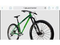 Wanted hardtail mountain bike