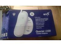 BT Quartet 1100 Cordless Telephone - Silver