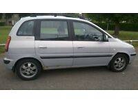 running Hyundai Matrix 1.8 CDX MOT cheap to run