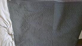 ikea grey throw
