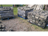 Quality Reclaimed Clean Stone Setts (approx. 16 Sq.M) - Various Sizes