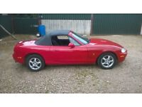 mazda mx5 roadster mot march may p/ex why