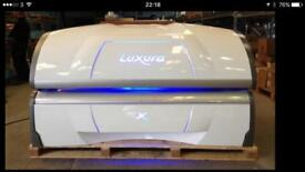 Hapro X7 sunbed upgraded in white Priced to go as need space.