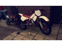 Kdx 125cc ( not yz cr rm dtr )