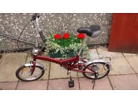 Folding Bike perfect condition