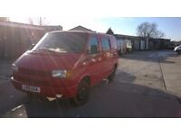 VW 1994 T4 SWB 2.4 diesel spares or repair project transporter short MOT (card payment accepted)