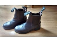 Toggi brown child's riding boots UK10