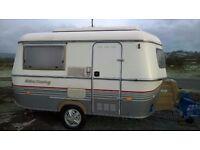 Eriba 1996 2 berth caravan in excellent condition with brand new awning .rare collectors caravan.