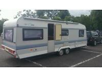 Hobby 6 berth caravan