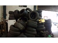 Free used tyres approx 100