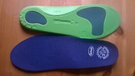 SCHOLL Biomechanics heel and knee pain reliever insoles