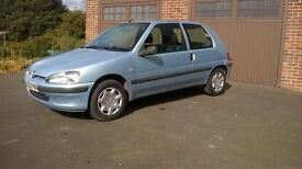 2002 PEUGEOT 106, OUTSTANDING CONDITION, VERY LOW MILEAGE, FULL MOT