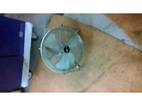 TWO BONAIR THREE SPEED COOLING FANS