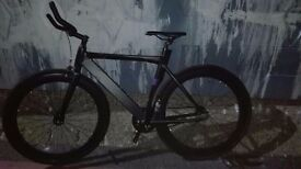 Bike for £200 been in the garden for a year damaged slightly with back brake missing