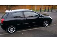 TOYOTA COROLLA T SPORT IN BLACK WITH LEATHER ONE ELDERLY OWNER SINCE 2006