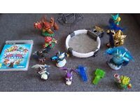 Skylanders characters, game and trap