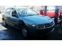 2002 Nissan almera 1.5 petrol spares or repair salvage cheap car