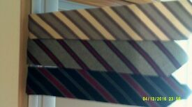 Vintage collection of All wool Ties by M&S