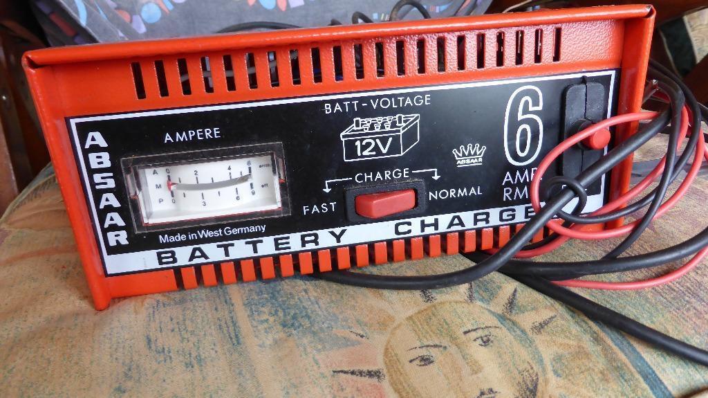 Car Battery Charger Absaar German Make 12v Fast Or