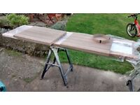 Wilsonart Cypress Cinnamon worktop x3 pieces for sale, ideal for a small kitchen project.
