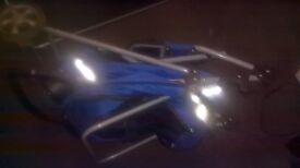 Blue Dog Stroller